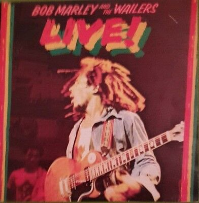 Bob Marley And The Wailers - Live! At The Lyceum -Vinyl LP Island ILPS9376  1975