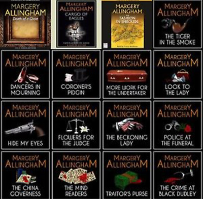 Margery Allingham -Albert Campion Audio Books Complete Collection MP 3 DVD