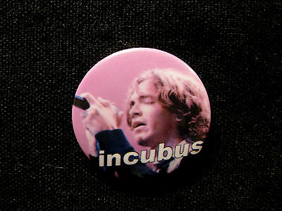 Incubus Vintage Button Badge Pin Uk Import