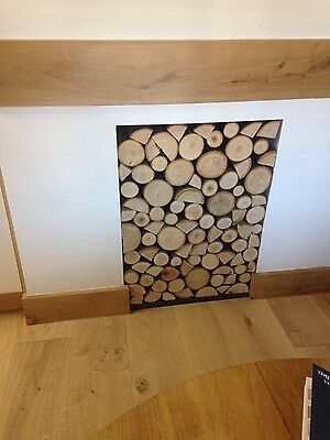 Decorative logs fantastic sweet chestnut hard wood great aroma xmas winter deal