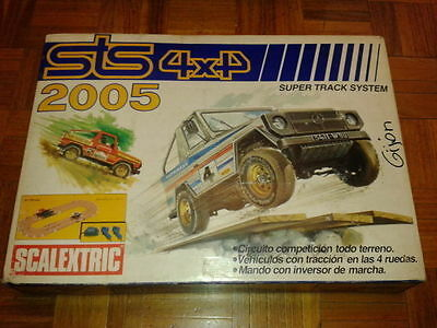 Scalextric Sts 4X4 2005 Exin 1989