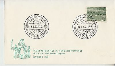 Scouting pathfinders Denmark 1963 Girl Scouts World Congress Nyborg
