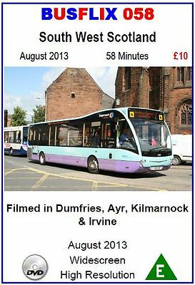 Busflix Films BF 058 South West Scotland  August  2013