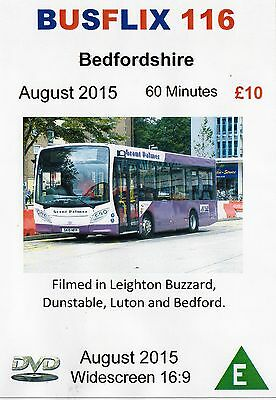 Busflix Films BF 116 Bedfordshire August 2015 60 minutes