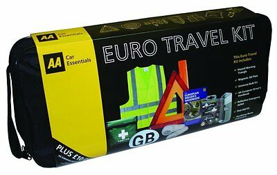 The AA - Euro Travel Kit ,Euro Car Travel Essentials Road Safety Kit