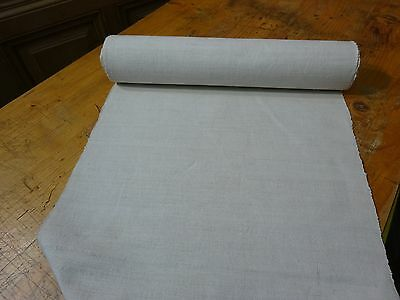 A Homespun Linen Hemp/Flax Yardage 10 Yards x 19'' Plain  # 8324
