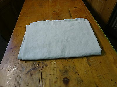 Antique European Linen, Hemp,Flax Homespun Linen Sheet 75'' x 55'' #7536