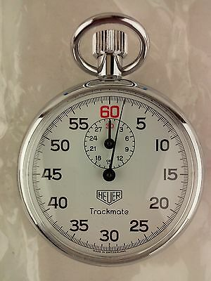Heuer Trackmaster Mechanical Trackmate Stopwatch