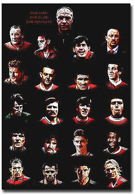 """All Started With One Man Liverpool FC Fridge Magnet Size 2.5"""" x 3.5"""""""