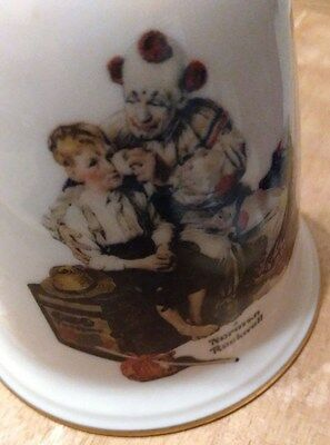 Norman Rockwell Gorham Fine China Usa 1980 First Edition Clown Bell