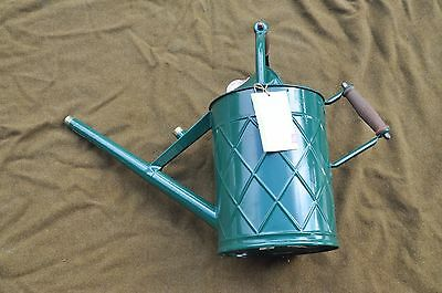 Haws Model 790 Traditional Heritage galvanized metal watering can missing rose
