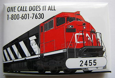 Canadian National Limited Edition #2455  Pinback Button