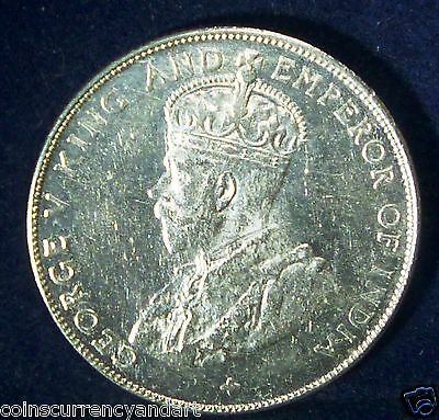 Malaya Straits Settlements 1921 50 Cents ,High Grade-KING AND EMPEROR GEORGE V