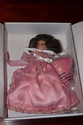 """Tonner Tiny Betsy McCall Doll 8"""" PRINCESS BETSY Pink Gown Brunette NRFB"""