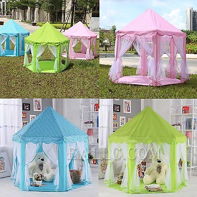 New Portable Princess Castle Play Tent Activity Fairy House Fun Playhouse Toy