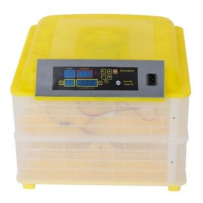 New Arrival ! 96 Eggs 110V Egg Incubator Hatcher Digital Auto-Turning