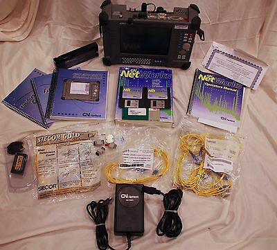 NetTest CMA 4000i CMA4473!! Optical Test System - With Case & Accessories!!!