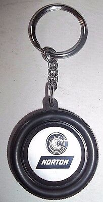 Grindwell Norton Limited Key Chain Tyre Shaped-Automobile Theme.