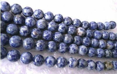 UK cheapest-Denim Lapis round 4 6 8 10 12 14mm gemstone beads blue white