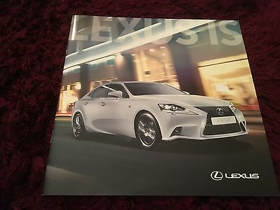Lexus IS Launch Brochure 2013 - March 2013 issue