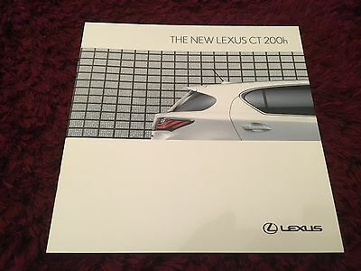 Lexus CT 200h Launch Brochure 2010 - March 2010 issue