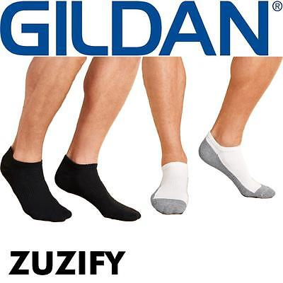 Gildan Platinum No Show Socks. GP711