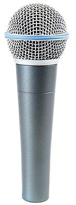 Shure BETA58A Super-Cardioid Handheld Dynamic Microphone BETA 58A NEW FREE 2DAY!