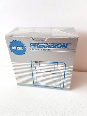 Precision 3.5 1.44MB MF2HD High Density Pre-formatted Disk (10-Pack) PC SEALED