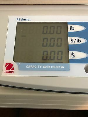 Ohaus scale (USED) RE Series MODEL RE3OUS 60 lb. MAX