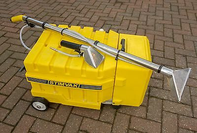 Industrial 'Stimvak Metro' Compact Upholstery Cleaning Machine