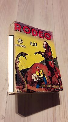 Rodeo Bd Album N°9 - 1959 - Enchère Inversee