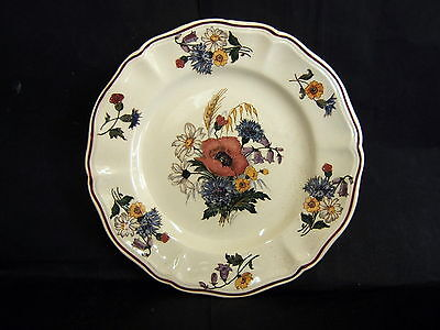 Assiette A Dessert Faience Sarreguemines Dv Decor Agreste