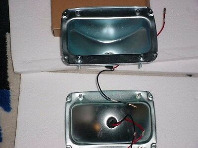 1 pair of tail light housings for 1965-66 Ford mustang (with pig tail