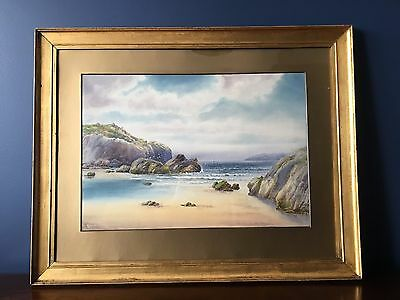 Original 19th Century Watercolour Painting by A. Binbeck- Signed.