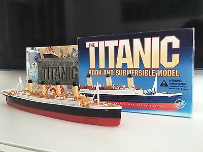 The Titanic Book and Submersible Model by Susan Hughes and Steve Santini 1999