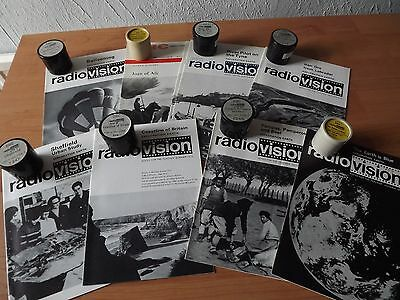 VINTAGE EDUCATIONAL FILMSTRIPS. BBC RADIOVISION 1960s-1970s.IN CANISTERS & NOTES