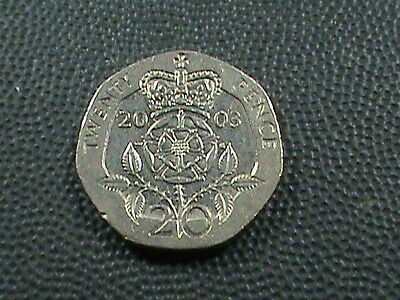 GREAT  BRITAIN    20 pence    2003