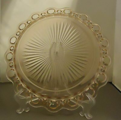 Anchor Hocking Old Colony Pink Berry Fruit Bowl Depression Glass