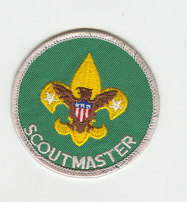 MINT Older  Boy Scout Scoutmaster Patch