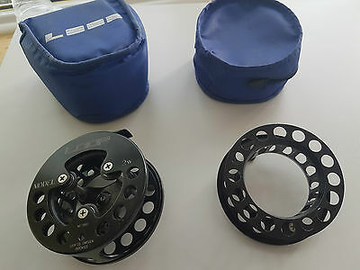 Loop 2W Traditional Fly Reel With Spare Spool 7/8 Great Condition With Case