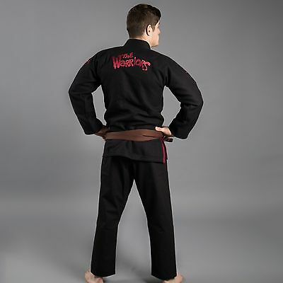 NEW! Scramble X The Warriors Kimono BJJ Jiu-Jitsu Gi Black