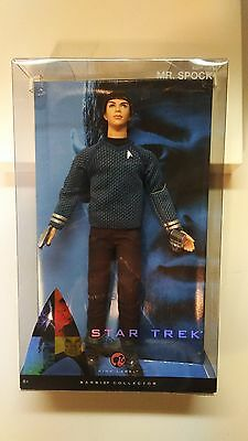 STAR TREK 2009 BARBIE SPOCK Zachary Quinto Unopened Pink label Doll Figure 12in
