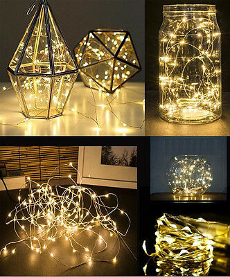 Fairy Lights Mason Jar Firefly LED lights wedding table venue indoor decoration