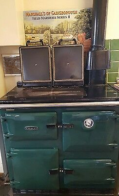 Aga Rayburn 480AG (CF) Gas Central Heating and Cooker with Paperwork