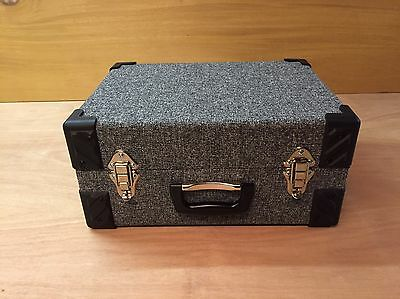 "7inch, 7"" Vinyl Record Carrying Case Box Flight Case Free Uk Post"