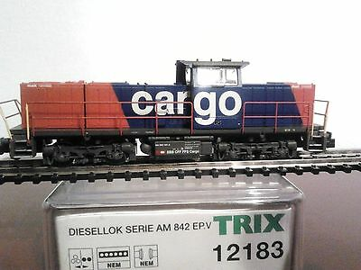 Trix 12183 - Am 942 Sbb - Scala N - New & Ovp