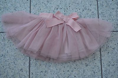 NEW Mamas & Papas Party Girls Special Occasion Dusky Pink Net Tulle Skirt 0-3 M