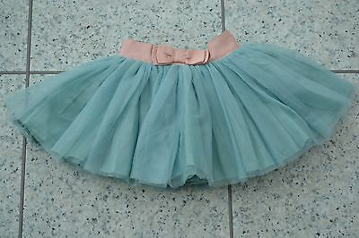 BN Mamas and Papas Girls Special Occasion Pink Aqua Net Tulle Skirt 3-6 M
