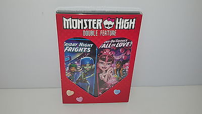 Monster High: Friday Night Frights/Why Do Ghouls Fall in Love? New DVD Valentine