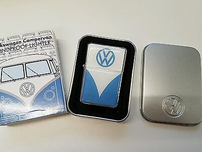 vw campervan windproof lighter - new - slight imperfections in coating